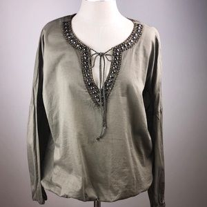 Michael Kors Blouse with Statement neck-line.